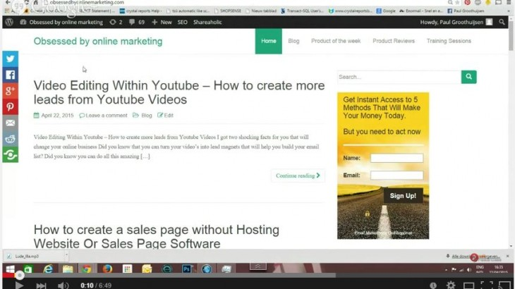 Video Editing Within Youtube - How to create more leads from Youtube Videos