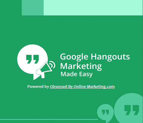 Free Google Hangouts Marketing Report
