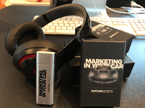 Get The First 257 Episodes Of  Marketing In Your Car  For FREE On This Pre-Loaded MP3 Player
